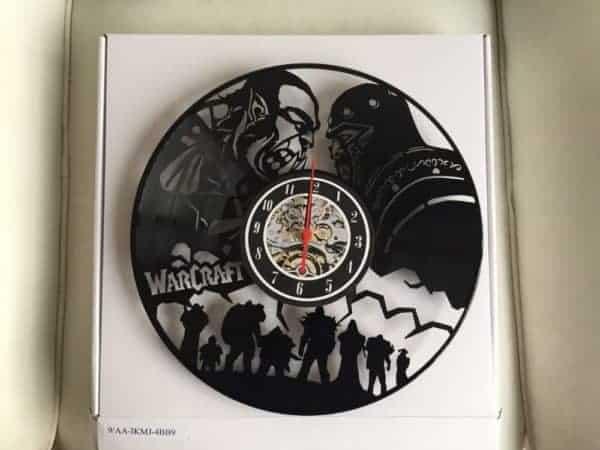 World of Warcraft Vintage Vinyl Wall Clock 3