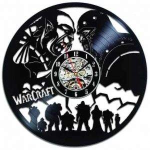 WoW BfA Vintage Vinyl Wall Clock