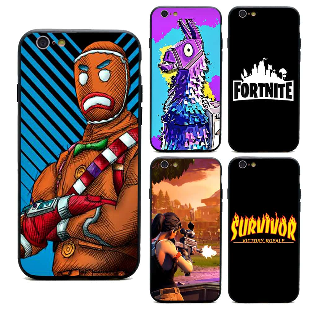 100% authentic 2073b 6ebd6 Fortnite Battle Royale Apple iPhone Anti-Scratch Cases