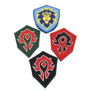 Horde Ally Wow Badge