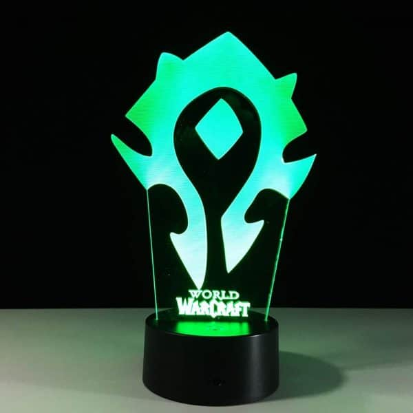 Horde Lamp Green