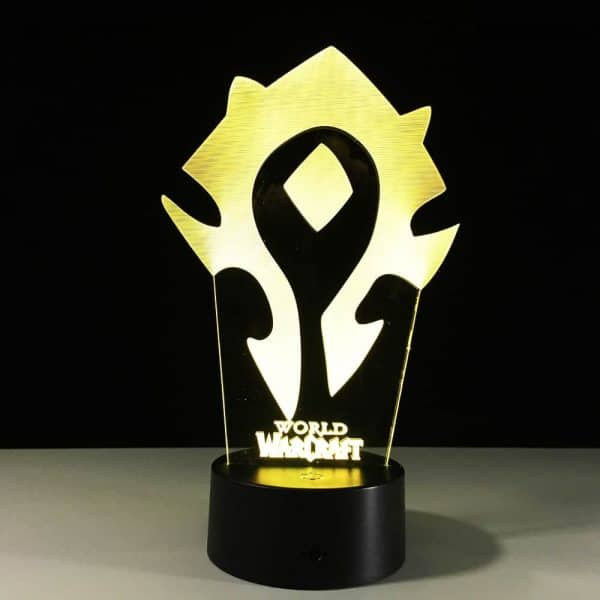 Horde Lamp Yellow 3D