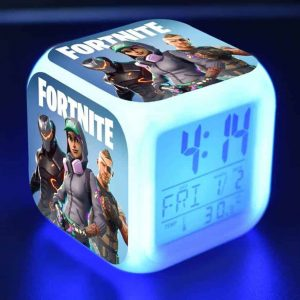 FORTNITE Glowing Alarm Clock