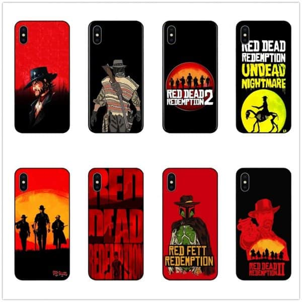 Red Dead Redemption 2 Protection Cover Case for Samsung / iPhone
