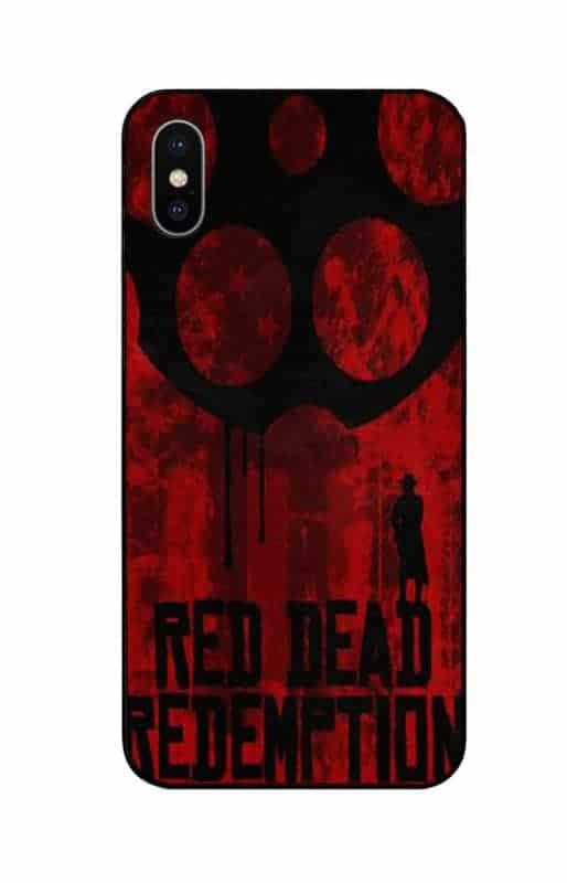 red dead logo phone case