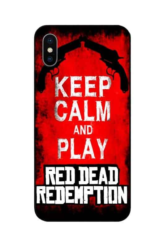 keep calm and play red dead