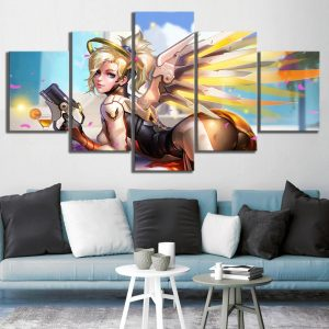 Overwatch Mercy Canvas