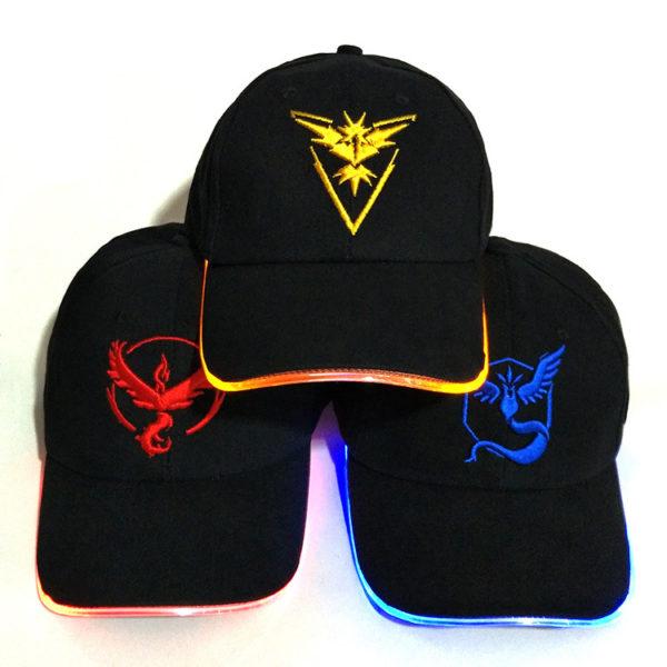 Pokemon: Valor - Instinct - Mystic Baseball Cap 1