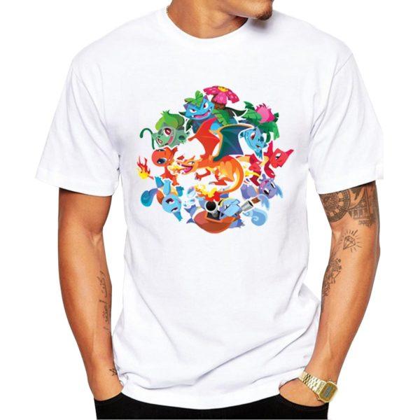 Pokemon Men's T-Shirts 4