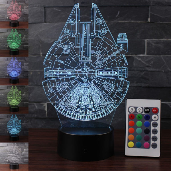 Star Wars: Millennium Falcon Night Light 1