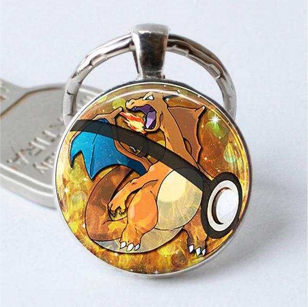 Pokemon: Glass Keychain 2