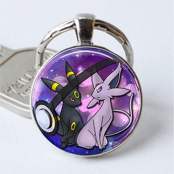 Pokemon: Glass Keychain 4