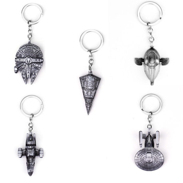 Star Wars: Silver Plated Keychains 1